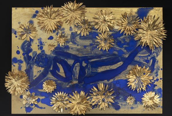 Reclining Buddha with Flowers, 2010